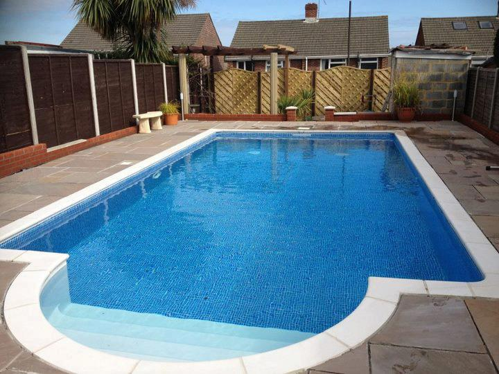 Swimming Pool Installation Service : Heated outdoor swimming pool installation paul s